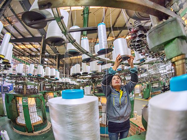 毛毯毛绒类纺织品生产基地