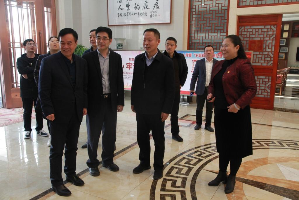 2019年12月10日,江苏省退役军人事务厅领导来亿博团队全天实施计划官网改革开放四十年陈列馆参观